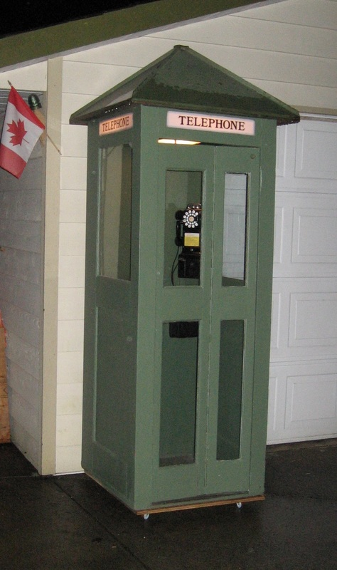 Outdoor Phone Booths