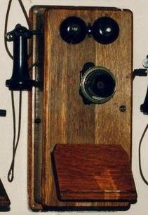 Catalogue of antique to modern wall phones for rent as props